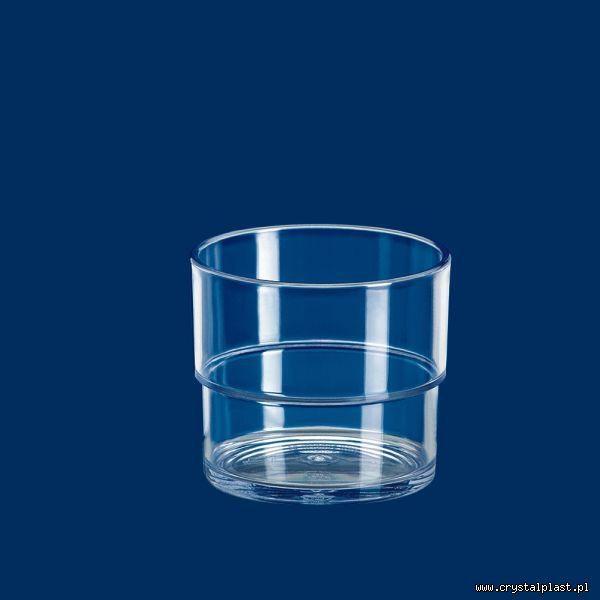 Uniwersalny puchar 0,2 l litra SAN przeźroczysty puchary przeźroczyste plastikowe