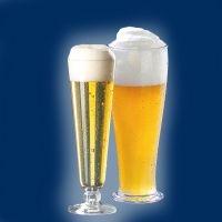 Plastikowe szklanki do piwa
