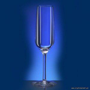 Kieliszek do szampana 0,1l litra SAN - szkłopodobny przeźroczyste szkłopodobne kieliszki