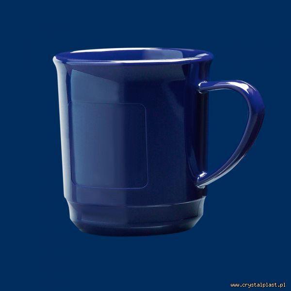 Kubek do grzanego wina z uchem uchwytem 0,2l litra SAN - niebieski niebieskie kubki grzane wino