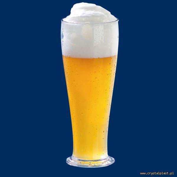 Plastikowy kufel do piwa 0,5l pół litra SAN - szkłopodobny szkłopodobne kufle plastikowe
