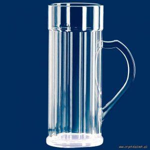 Plastikowy kufel do piwa z uchem uchwytem 2l litry SAN - szkłopodobny szkłopodobne kufle plastikowe