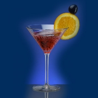 Plastikowe szklanki koktajlowe i barowe