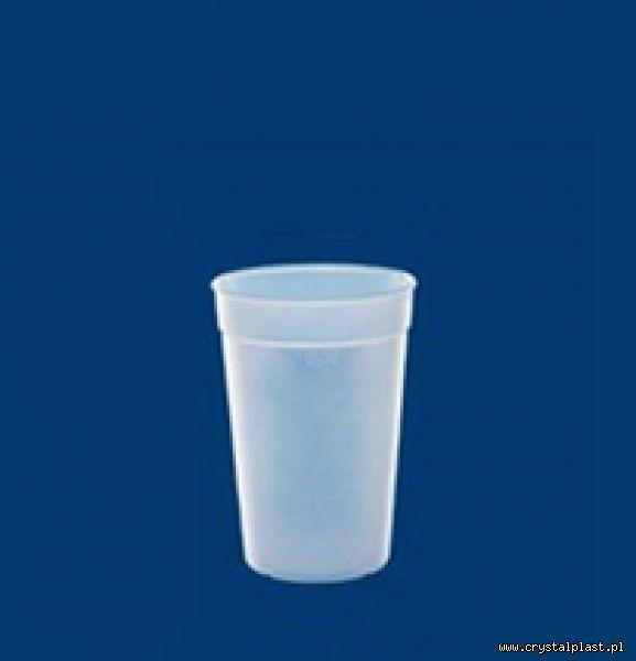 Kubek mrożony 0,2l litra PC litra kubki mrożone kubeczki plastikowe