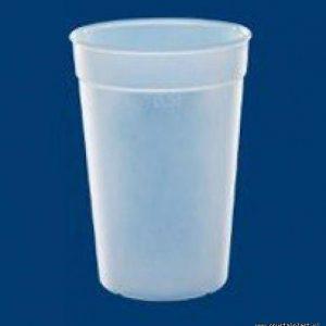 Kubek mrożony 0,5l pół litra PC litra kubki mrożone kubeczki plastikowe