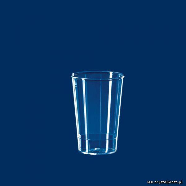 Kubek degustacyjny 0,1l litra SAN szkłopodobny kubki kubeczki degustacyjne przeźroczysta