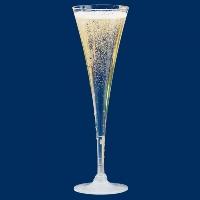 Plastikowe kieliszki do szampana