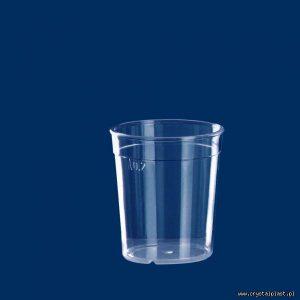 Kubek szkłopodobny 0,2l szkło podobny 0,2 litra PC litra kubki szkło podobne przeźroczysty