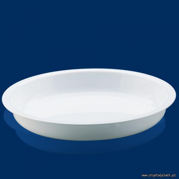 Plastikowy talerz do zupy z polipropylenu plastikowy wielorazowego użytku