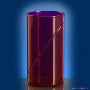 plastikowa szklanka 0,25 l litra SAN czerwona czerwone szklanki plastikowe